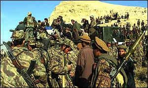 Northern Alliance prepare to take Kunduz